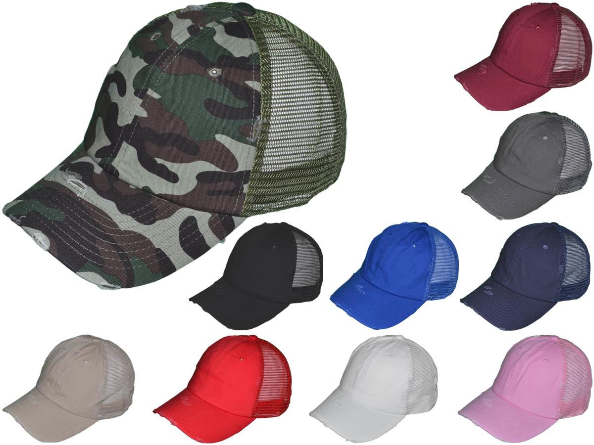 a02f93bbdf7 Two-tone Trucker Hat 2812 Melange Trucker Hat 2811 Distressed Trucker Hat  2994